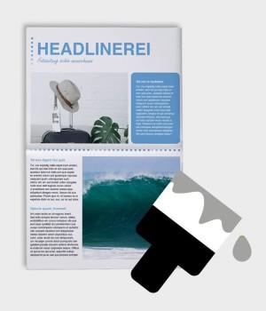 Zeitung selbst gestalten