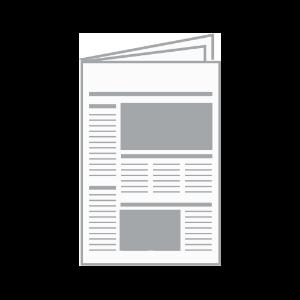 Klassischer Zeitungsdruck